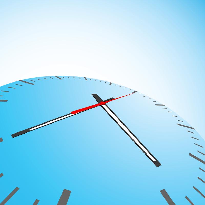Stylized Clock Image