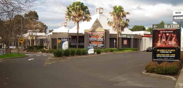 Victorian ANAA Meeting Venue - Blackburn Hotel